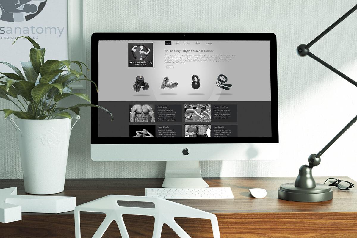 Grays Anatomy Website Design