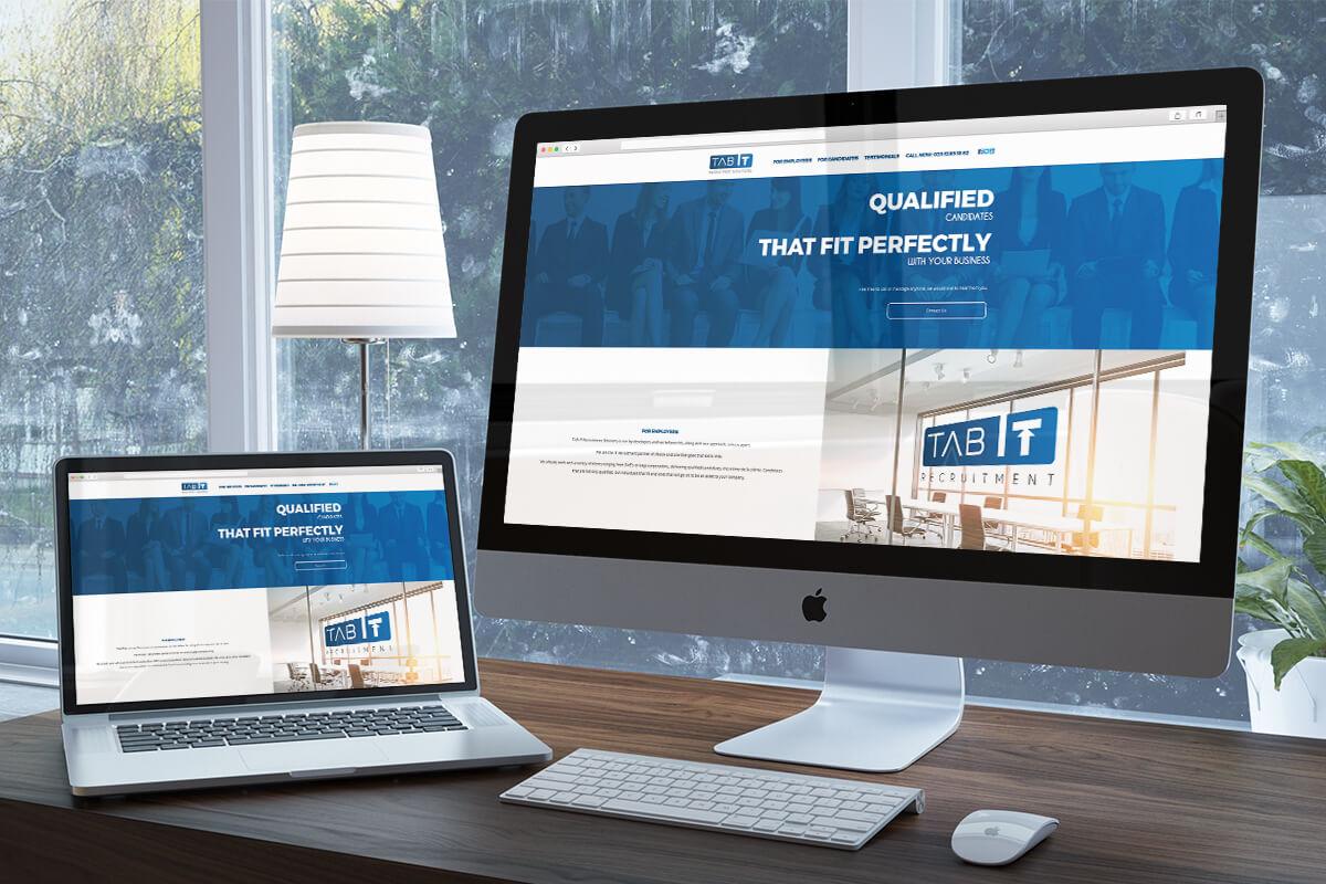 Newcastle Based Recruitment Company Design